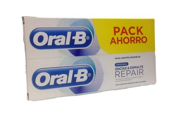 ORAL-B REPAIR ENCIAS & ESMALTE PACK AHORRO 2X100 ML
