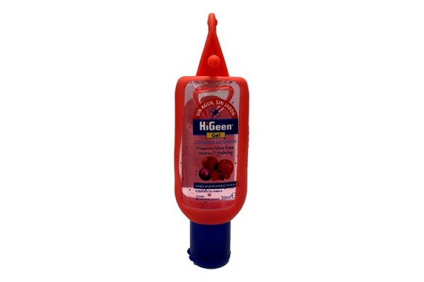 HIGEEN GEL DESINFECTANTE DE MANOS LIMÓN 50 ML