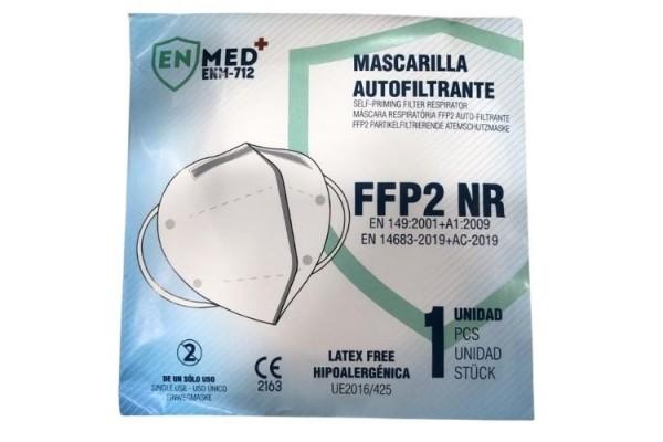 MASCARILLA FFP2 NR 1U BLANCA